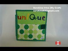Quiet book #33 / Развивающая книжка №33 - YouTube