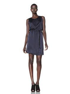 Sleek and simple dress.