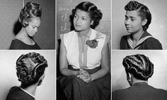 Vintage  Hairstyles for African American women