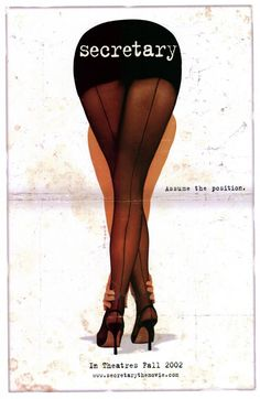 Secretary , starring James Spader, Maggie Gyllenhaal, Jeremy Davies, Lesley Ann Warren. A young woman, recently released from a mental hospital, gets a job as a secretary to a demanding lawyer, where their employer-employee relationship turns into a sexual, sadomasochistic one. #Comedy #Drama #Romance