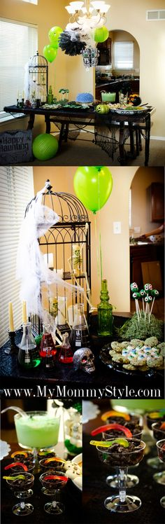 #Zombie Halloween Party for Kids - see more on http://www.mymommystyle.com/2013/09/30/a-zombie-halloween-party-for-kids/ (with Pin-It-Button)