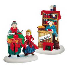 "Department 56: Products - ""Christmas Bazaar...Woolens & Preserves"""