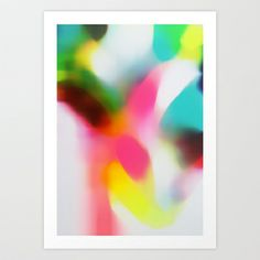 Changing the Rain Art Print by Three Of The Possessed - $18.00