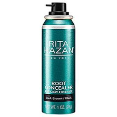 What it is:A revolutionary new aerosol spray for temporarily covering gray roots quickly and easily.What it does:This spray is designed to temporarily cover gray and any root growth with just one quick spray. The pinpoint actuator delivers the produc
