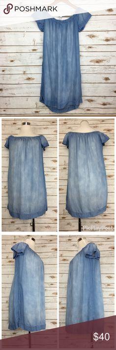 feec65b91 Cloth & Stone Off Shoulder Tencel Dress