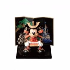 NEW Mickey Mouse Micky's May doll small Armor doll Tokyo Disney Resort limited  #Disney