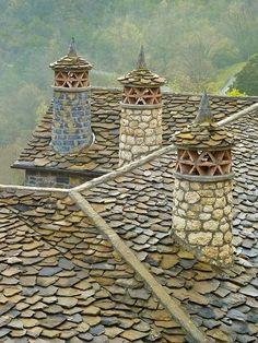 Chimeneas | Los Pirineos, Francia.