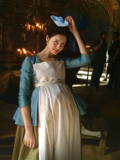 Here are some NEW pics of Caitriona Balfe on Set of Outlander Season 2 More after the jump!
