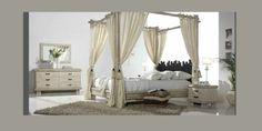 ¿Os atreveríais con un dormitorio colonial como este?