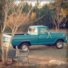 To own a old ford f150 .. My dream in life :)