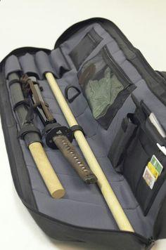 Martial arts gear Gear and weaponry carrying case Kanariashoto.com Más