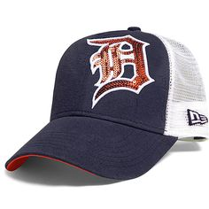 Detroit Tigers Women's Sequin Shimmer 9FORTY Adjustable Cap by New Era - MLB.com Shop