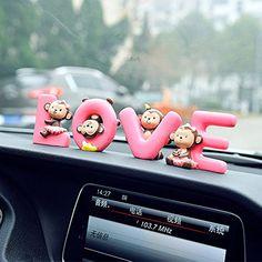 ترفندهای تزیین ماشین عروس: 10 نکته طلایی برای حرفه ای ها - شادیما Office Ornaments, Cute Monkey, Cute Home Decor, Home Office, Holiday Gifts, Monkeys, Birthday, Creative, Decorations
