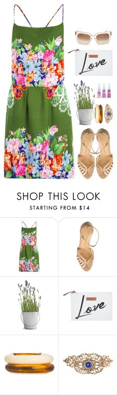 """'Mas que preguiça boa, me deixa aqui a toa. Hoje ninguém vai estragar meu dia.'"" by fashionista-falida ❤ liked on Polyvore featuring Potting Shed Creations, Branca, Le Lis Blanc, farm, colcci, oversizedflorals and santalolla"