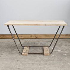 White Oak Butterfly Coffee Table