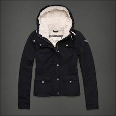 warm A&F jacket