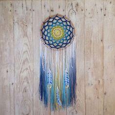 Image result for crochet thread dream catcher