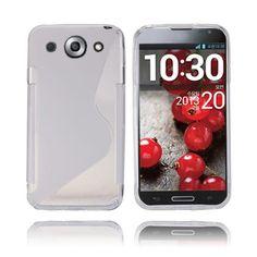 S-Line (Transparent) LG Optimus G Pro-Skal