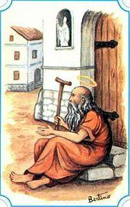 St. Servulus pray for us.  Feast day December 23.