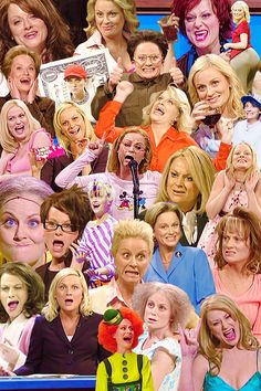 The many awesome faces of Amy Phoehler