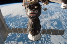 Outside the ISS, 2013