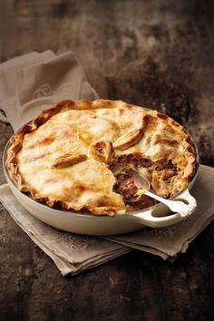 Adri Retief van Darling se pastei sal enige maal 'n feesmaal maak. My Recipes, Chicken Recipes, Dessert Recipes, Cooking Recipes, Favorite Recipes, Recipies, Tart Recipes, Desserts, Quiche