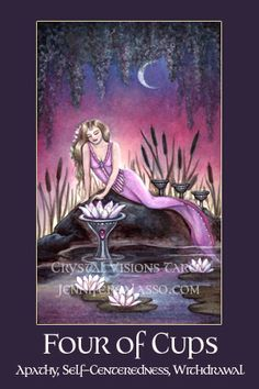 Crystal Visions Tarot: A Magickal Journey to Enlightenment. Fantasy Tarot Deck by Jennifer Galasso.