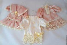 Купить Новые платья для  винтажных кукол - платье, кукла, винтажное платье, ретро, одежда для кукол