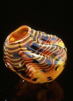 A video display will show Chihuly and his team at work, creating glass and installing his artwork around the world. Description from arthurrogergallery.com. I searched for this on bing.com/images