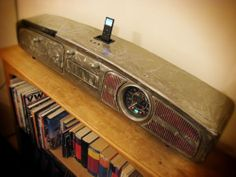VERY RARE STUNNING BESPOKE CONTEMPORARY ART VW BEETLE CAMPER IPOD IPHONE DOCK | eBay
