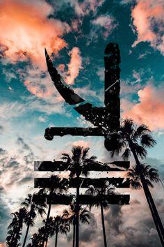 KSHMR logo #kshmr #kshmrlogo #logo #palmtrees #summer #gracethekshmr