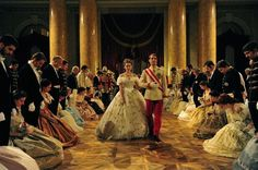"From the new movie ""Sissi"", another film adaptation of the life of the last empress of Austria."