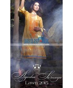 Ayesha Somaya Designer Lawn Collection 2015 With Price