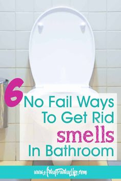 """Between my dementia Mom and my elderly dog, we have a lot of """"accidents"""" in the bathroom! Here are my battle tested tips and ideas to help Alzheimers and Dementia caregivers for how to keep those poop and pee smells out of your bathroom! Boy Bathroom Smell, Elderly Products, Pee Smell, Dog Pee, Aging Parents, Alzheimer's And Dementia, Traumatic Brain Injury, Trigger Points, Elderly Care"""