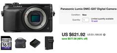 Hot US deal: Almost $200 off on the Panasonic GX7! Olympus accessory deal ends tomorrow. | 43 Rumors