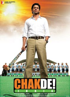 Chak De India starring Shah Rukh Khan is a favorite movie at our house! Hindi Bollywood Movies, Watch Bollywood Movies Online, Latest Hindi Movies, Hindi Movies Online, Bollywood Posters, Srk Movies, Imdb Movies, Shahrukh Khan, Sultan Movie