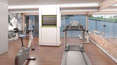 Fitness Center. Condomínio Fechado LaVille - | Paysage. Estrada do Ganchinho , 2530 - Umbará, Curitiba - Paraná.