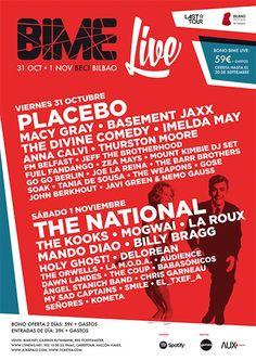 BIME Live 2014 cierra cartel