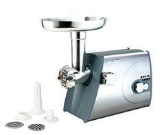 Picadora de carne Zeus Palson #picadoracarne Small Appliances, Kitchen Appliances, Carne, Stainless Steel, Cleaning, Meat, Robots, Delivery, Science