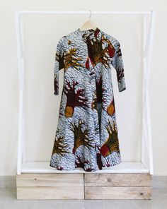 Meet our Stump Speech dress. Curate a conscious closet. Ethical, sustainable, innovative fashion, made in Kenya.