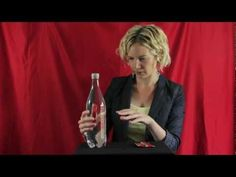 Easy magic trick for kids - Floating Ketchup Trick - YouTube Perhaps could be used as a Gospel Magic Trick on obedience.