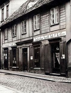 Königsberg Pr. Altstädt´sche Bergstraße Schuh- und Stiefelfabrikation C. Jautschus