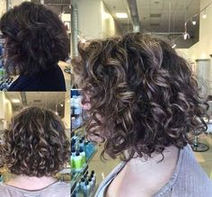 8.Short Haircut for Curly Hair