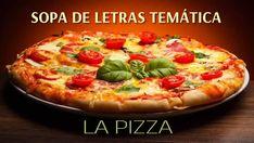 Sopa de letras interactiva temática: La pizza #sopadeletras