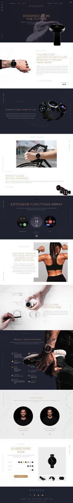 Dagadam landing page design inspiration - Lapa Ninja Best Landing Page Design, Landing Page Examples, Ux Design, Layout Design, Website Layout, Web Design Inspiration, Cool Designs, Ninja, Website Designs