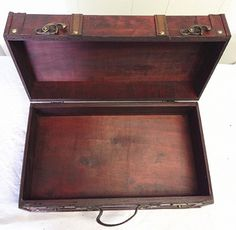 Replica Antique Vintage Style Wooden Suitcases (HF 020B-2) huafeng ...