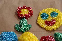 gyöngy gyurma házilag Activities For Kids, Elsa, Beaded Bracelets, Play Dough, Ideas, Children Activities, Pearl Bracelets, Kid Activities, Petite Section