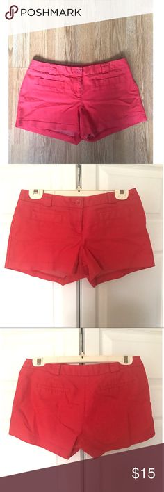 Flirtatious shorts. Flirtatious, pink shorts. Only worn one season. IN GREAT CONDITION! Flirtatious Shorts