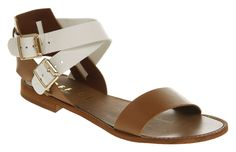 Office SORBET STRAP SANDAL nat/white