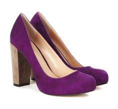 CLEO chunky heel pump
